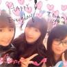 2/26 Yukirin with CinDy & Nacchan